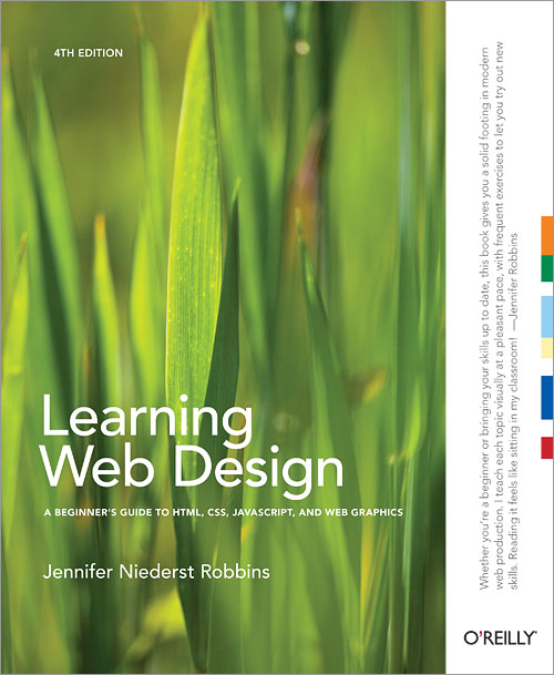 Learn more about the book 'Learning Web Design', by Jennifer Robbins