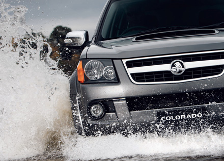 Review the Holden Colorado brochure and video